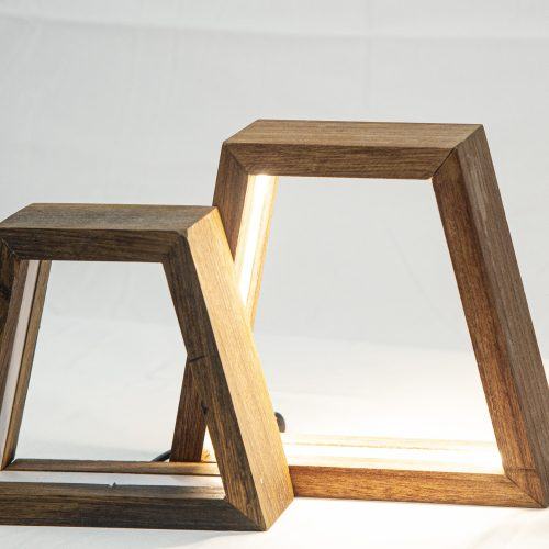 Lampada led da tavolo di design